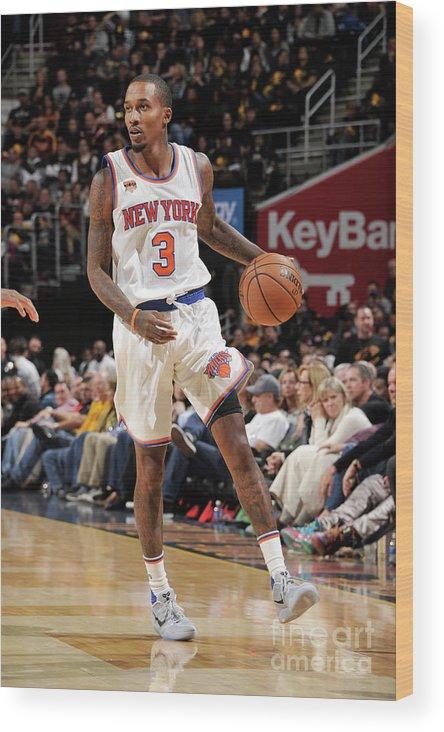 Nba Pro Basketball Wood Print featuring the photograph Brandon Jennings by David Liam Kyle