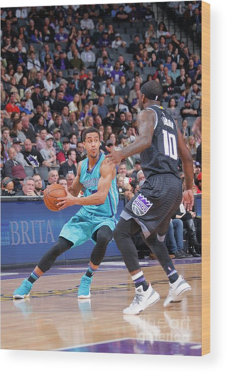 Nba Pro Basketball Wood Print featuring the photograph Brian Roberts by Rocky Widner