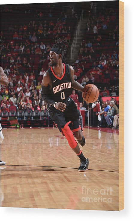 Nba Pro Basketball Wood Print featuring the photograph Briante Weber by Bill Baptist