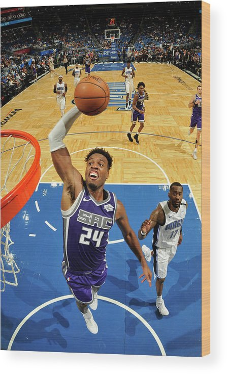 Nba Pro Basketball Wood Print featuring the photograph Buddy Hield by Fernando Medina