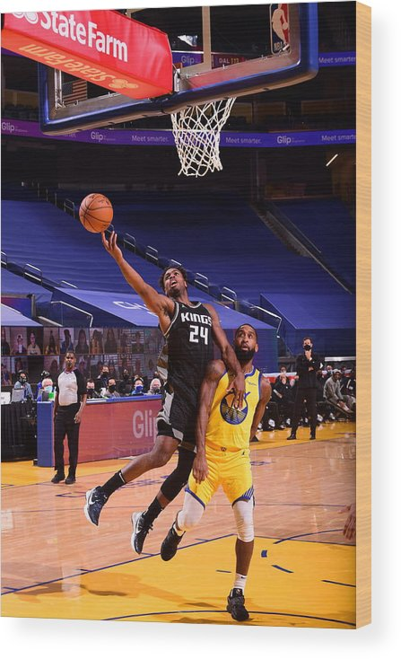 San Francisco Wood Print featuring the photograph Buddy Hield by Noah Graham