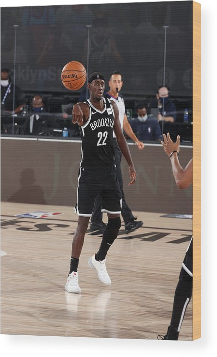 Nba Pro Basketball Wood Print featuring the photograph Caris Levert by David Sherman