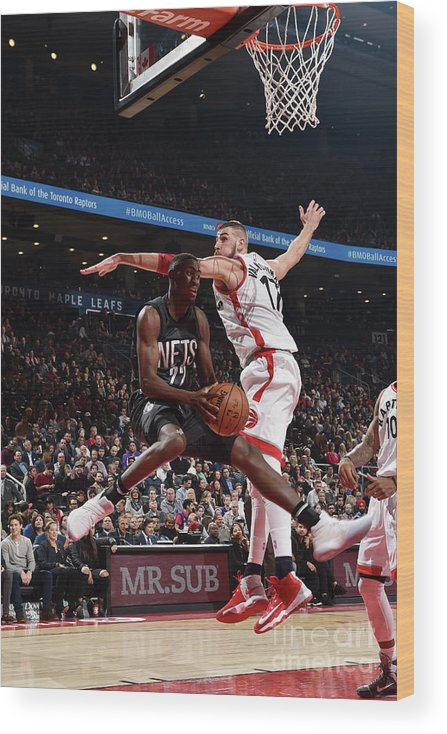 Nba Pro Basketball Wood Print featuring the photograph Caris Levert by Ron Turenne