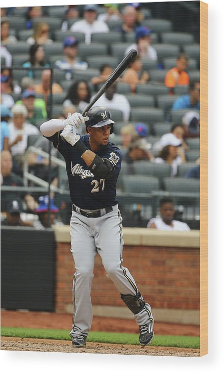 People Wood Print featuring the photograph Carlos Gomez by Al Bello