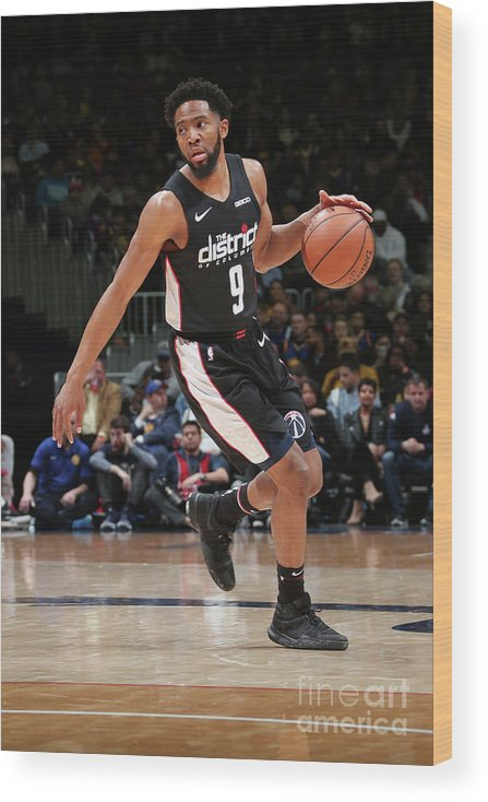 Nba Pro Basketball Wood Print featuring the photograph Chasson Randle by Ned Dishman