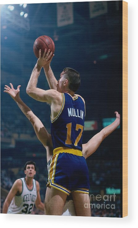 1980-1989 Wood Print featuring the photograph Chris Mullin by Dick Raphael