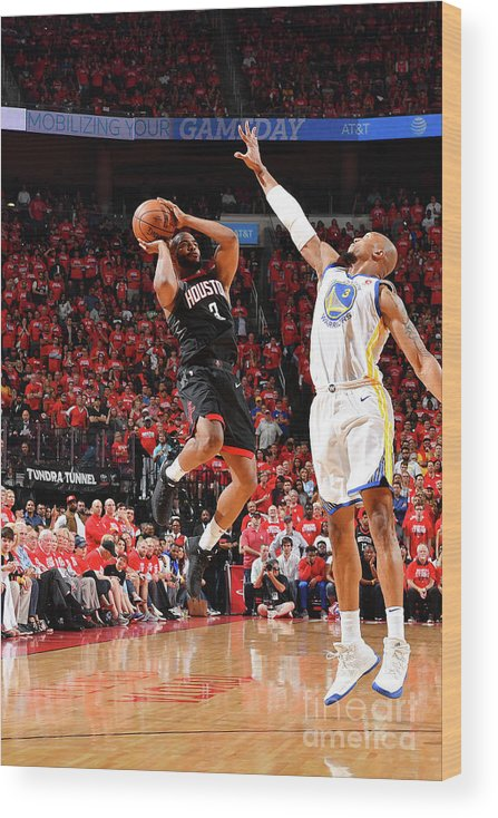 Playoffs Wood Print featuring the photograph Chris Paul by Jesse D. Garrabrant
