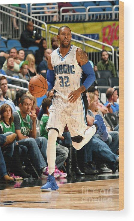 Nba Pro Basketball Wood Print featuring the photograph C.j. Watson by Fernando Medina
