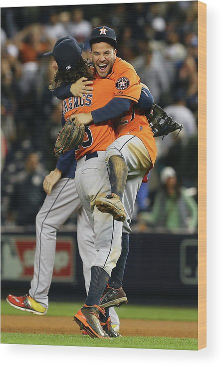 Playoffs Wood Print featuring the photograph Colby Rasmus by Elsa