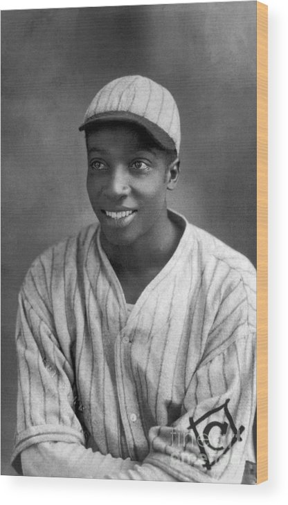Cool Papa Bell Wood Print featuring the photograph Cool Papa Bell by National Baseball Hall Of Fame Library