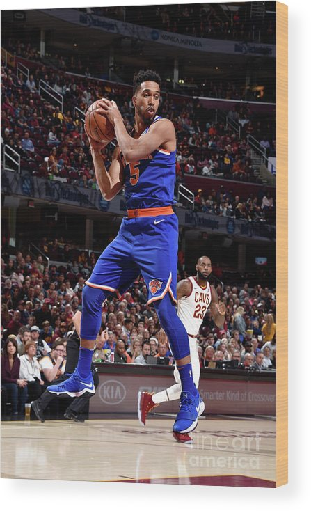 Nba Pro Basketball Wood Print featuring the photograph Courtney Lee by David Liam Kyle
