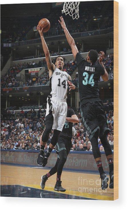 Nba Pro Basketball Wood Print featuring the photograph Danny Green by Joe Murphy