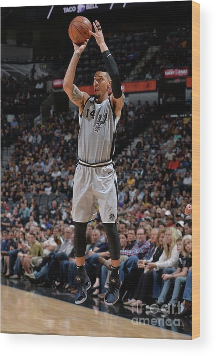 Nba Pro Basketball Wood Print featuring the photograph Danny Green by Mark Sobhani