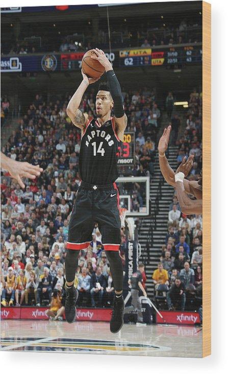 Nba Pro Basketball Wood Print featuring the photograph Danny Green by Melissa Majchrzak