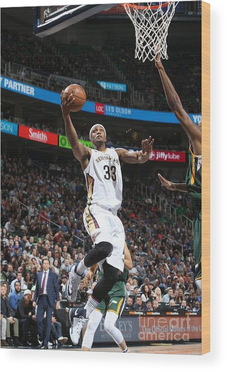 Nba Pro Basketball Wood Print featuring the photograph Dante Cunningham by Melissa Majchrzak