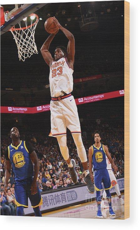 Nba Pro Basketball Wood Print featuring the photograph Danuel House by Noah Graham