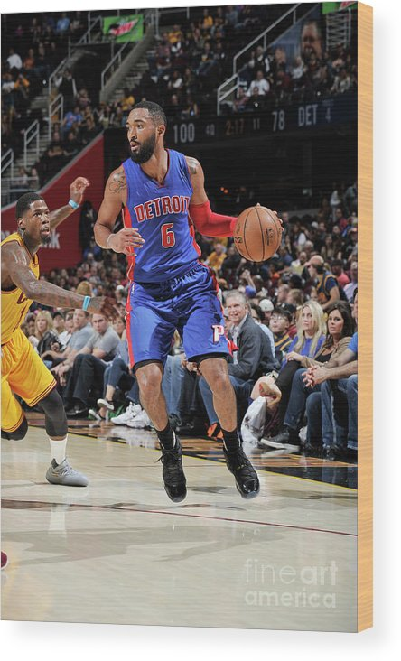 Nba Pro Basketball Wood Print featuring the photograph Darrun Hilliard by David Liam Kyle