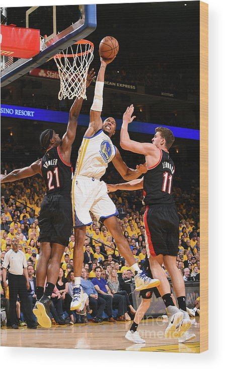 Playoffs Wood Print featuring the photograph David West by Noah Graham