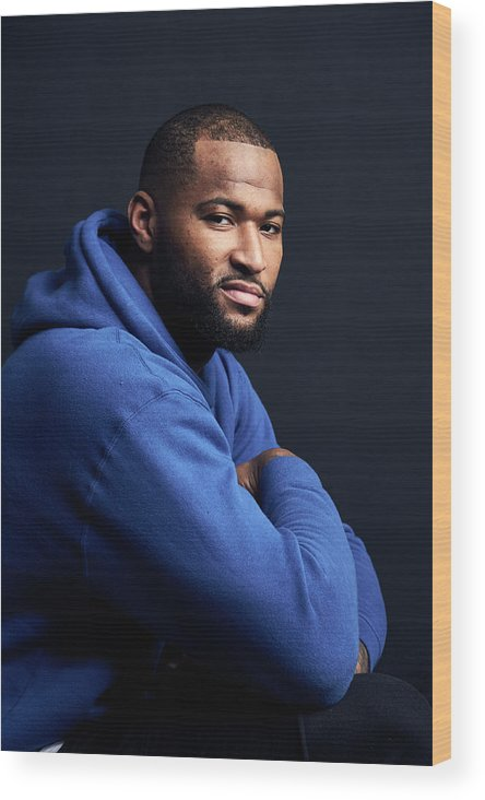 Event Wood Print featuring the photograph Demarcus Cousins by Jennifer Pottheiser
