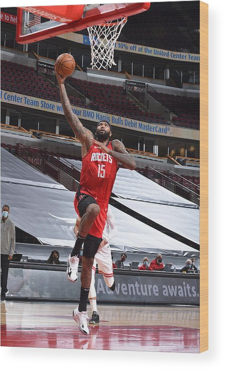 Nba Pro Basketball Wood Print featuring the photograph Demarcus Cousins by Randy Belice