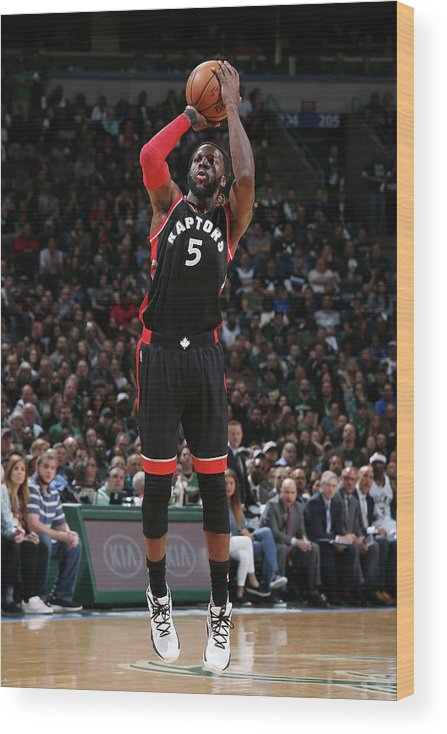 Playoffs Wood Print featuring the photograph Demarre Carroll by Gary Dineen