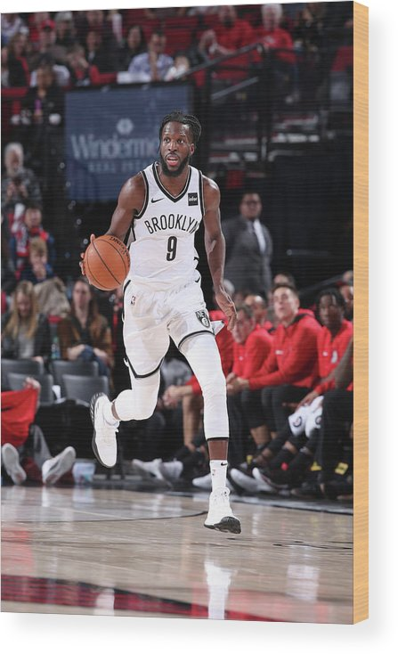 Nba Pro Basketball Wood Print featuring the photograph Demarre Carroll by Sam Forencich