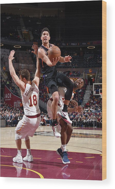 Nba Pro Basketball Wood Print featuring the photograph Devin Booker by David Liam Kyle