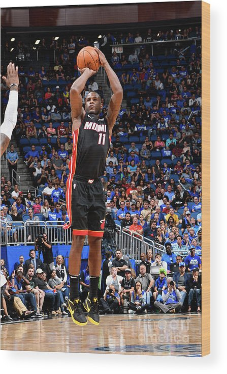 Nba Pro Basketball Wood Print featuring the photograph Dion Waiters by Fernando Medina