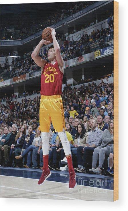 Nba Pro Basketball Wood Print featuring the photograph Doug Mcdermott by Ron Hoskins