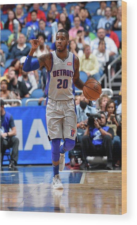 Nba Pro Basketball Wood Print featuring the photograph Dwight Buycks by Fernando Medina