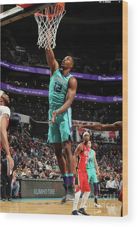 Nba Pro Basketball Wood Print featuring the photograph Dwight Howard by Kent Smith