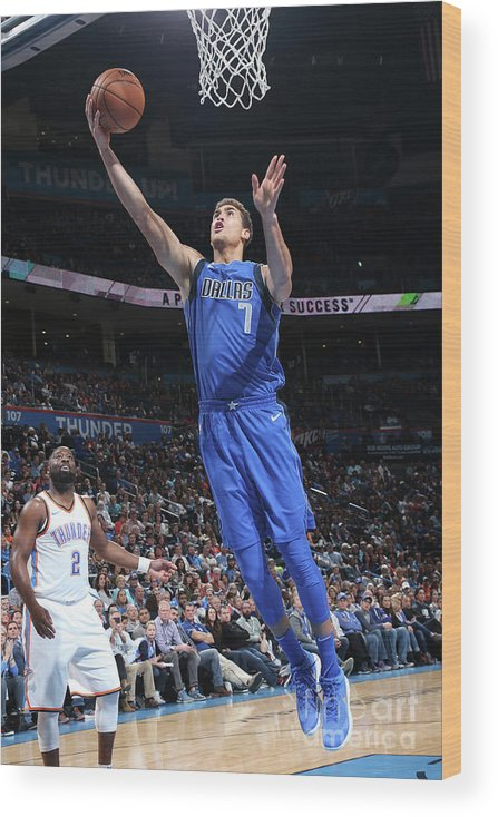 Dwight Powell Wood Print featuring the photograph Dwight Powell by Layne Murdoch
