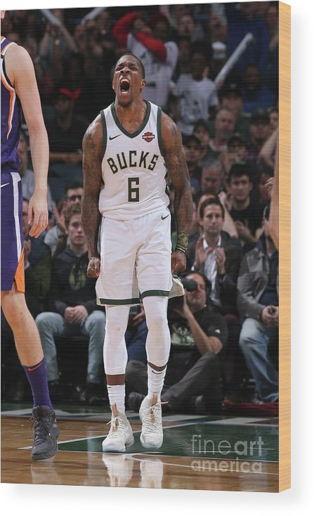 Nba Pro Basketball Wood Print featuring the photograph Eric Bledsoe by Gary Dineen