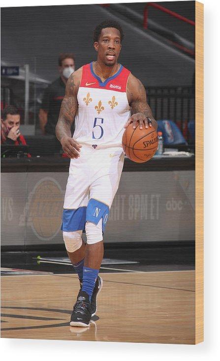 Nba Pro Basketball Wood Print featuring the photograph Eric Bledsoe by Issac Baldizon