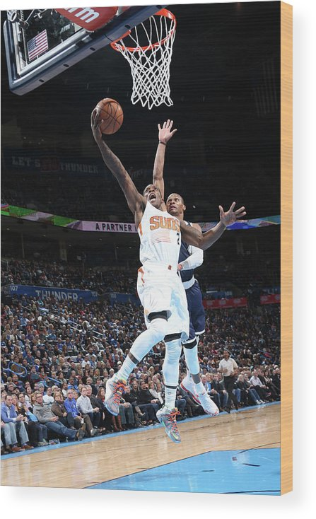 Nba Pro Basketball Wood Print featuring the photograph Eric Bledsoe by Layne Murdoch