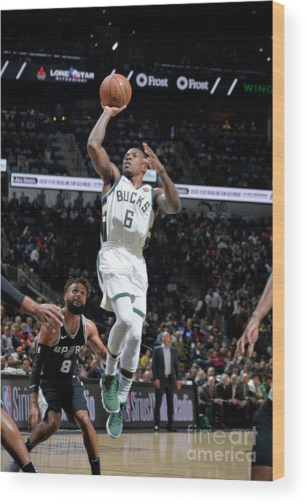 Nba Pro Basketball Wood Print featuring the photograph Eric Bledsoe by Mark Sobhani