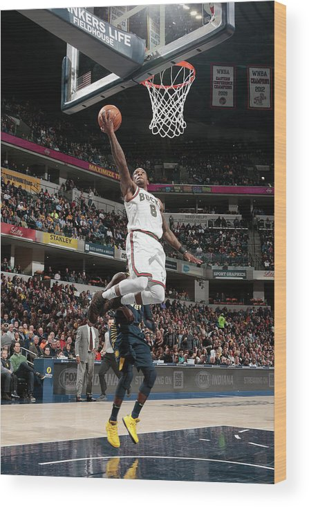 Nba Pro Basketball Wood Print featuring the photograph Eric Bledsoe by Ron Hoskins