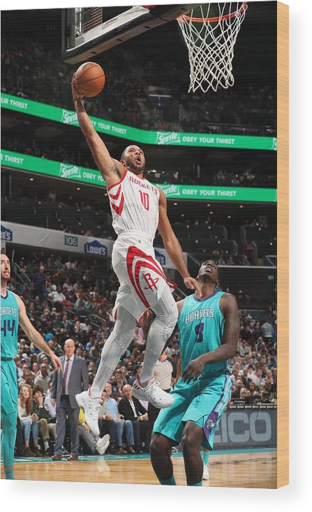 Nba Pro Basketball Wood Print featuring the photograph Eric Gordon by Kent Smith