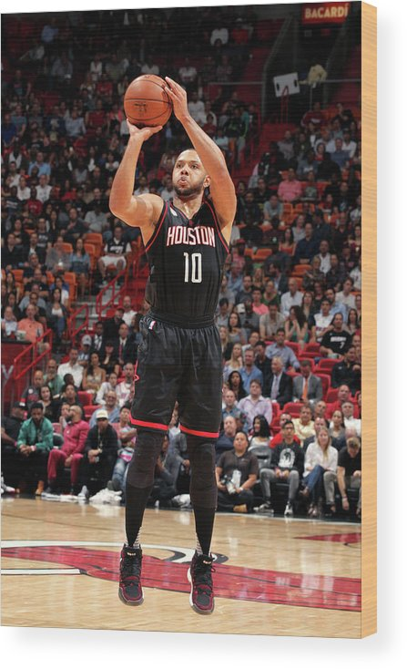 Nba Pro Basketball Wood Print featuring the photograph Eric Gordon by Oscar Baldizon