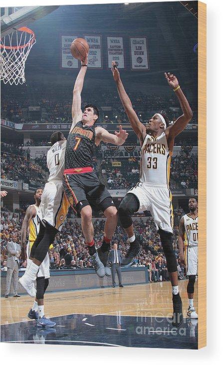 Nba Pro Basketball Wood Print featuring the photograph Ersan Ilyasova by Ron Hoskins