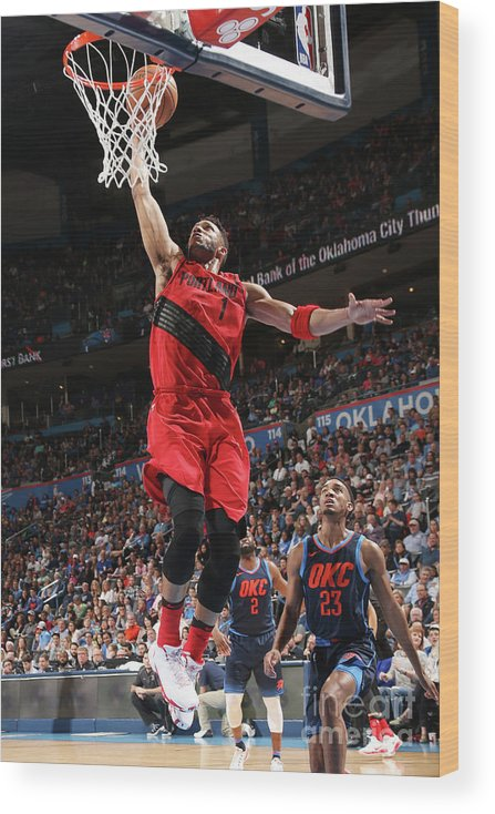 Sports Ball Wood Print featuring the photograph Evan Turner by Layne Murdoch