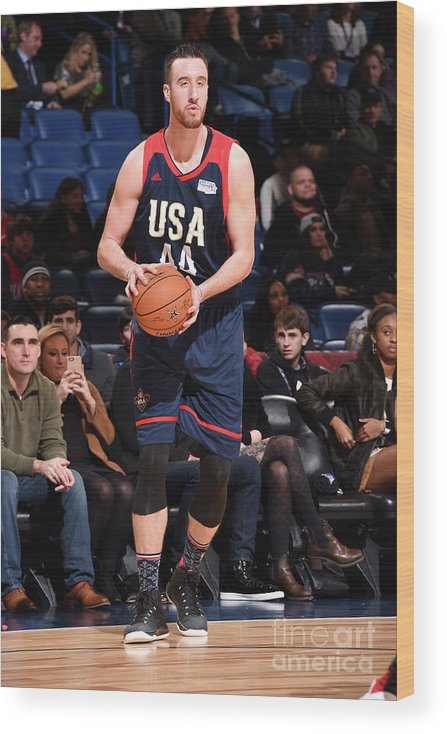 Event Wood Print featuring the photograph Frank Kaminsky by Andrew D. Bernstein