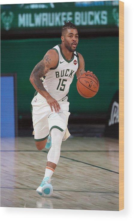 Nba Pro Basketball Wood Print featuring the photograph Frank Mason by Joe Murphy