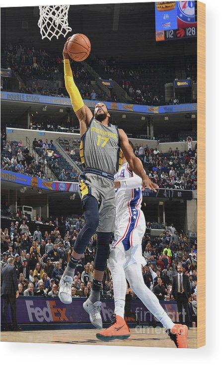 Nba Pro Basketball Wood Print featuring the photograph Garrett Temple by Jesse D. Garrabrant