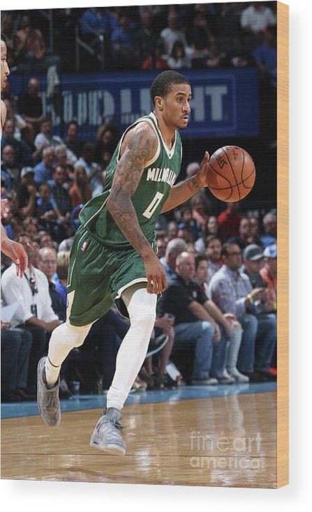 Nba Pro Basketball Wood Print featuring the photograph Gary Payton by Layne Murdoch