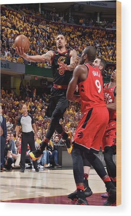 Playoffs Wood Print featuring the photograph George Hill by David Liam Kyle