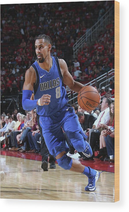 Nba Pro Basketball Wood Print featuring the photograph Gian Clavell by Layne Murdoch