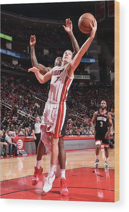 Nba Pro Basketball Wood Print featuring the photograph Goran Dragic by Bill Baptist