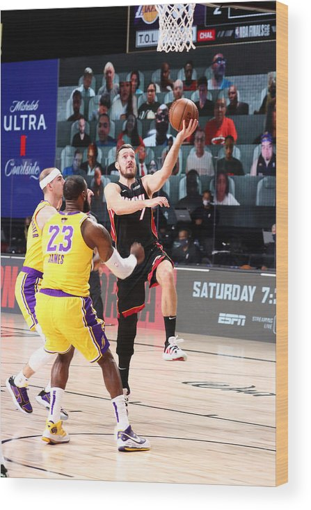 Playoffs Wood Print featuring the photograph Goran Dragic by Nathaniel S. Butler