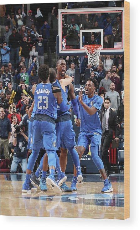 Nba Pro Basketball Wood Print featuring the photograph Harrison Barnes by Joe Murphy
